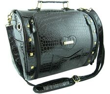 Bora Bora BLACK Pet Carrier Fashion Dog Handbag