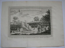 c1750 WHYDAH OUIDAH DAHOMEY WEST AFRICA EXECUTION OF KING JUIDA'S WIFE AND LOVER