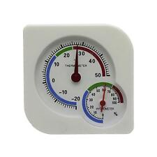 Indoor Outdoor Mini Hanging Desktop Meter Humidity Thermometer Wet Hygrometer