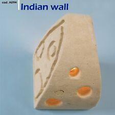 Lampada da parete artigianale in pietra Leccese - applique MODELLO INDIAN WALL