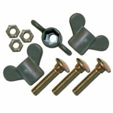 Isabella Awning Spares Wing Nut with plastic head for Pole Clamp 60258 Pk 3
