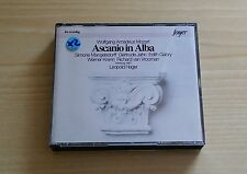 WOLFGANG AMADEUS MOZART - ASCANIO IN ALBA - LEOPOLD HAGER -2 CD COME NUOVI(MINT)