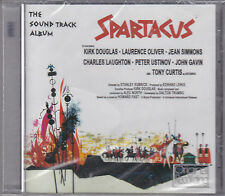 CD SPARTACUS KIRK DOUGLAS BO FILM ALEX NOTH 11T NEUF SCELLE EDITION 2012