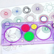 HOT Kids Spirograph Geometric Ruler Drafting Tools Stationery Drawing Toys DIY