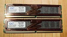4GB Kit 2x 2GB PC2 6400 800 Dual Channel Non-ECC DDR2 OCZ High Performance