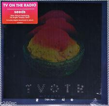 TV ON THE RADIO - SEEDS, ORG 2014 USA vinyl 2LP + DOWNLOAD CODE, SEALED!