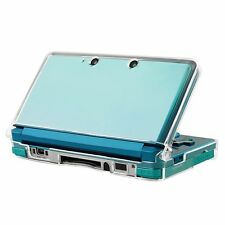 Clear Snap-on Plastic Crystal Hard Shell Case Protective Cover for Nintendo 3DS