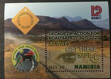 Namibia 2011 MNH Decade of Action for Road Safety SG#MS1167 Eye Desert Road