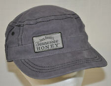 JACK DANIELS Tennessee HONEY Slate BLUE Cadet HAT Military CAP Embroidered CLEAN