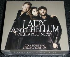 Lady Antebellum -  Need You Now  CD Special Edition  + Tote Bag NEW Rare