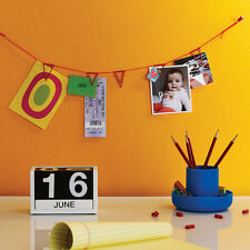 Pennant Clips Hanging String Wall Photo Postcard Display Banner Design Ideas