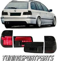REAR LED TAIL LIGHTS SMOKE FOR BMW E39 97-04 SERIES 5 TOURING FANALE