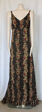 MAXI DRESS WILLOW AND CLAY ROMANTIC BOHEMIAN FORMAL MAXI DRESS SZ SMALL