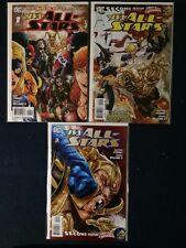 JSA All Stars # 1, 2 and 3 DC Comics NM 2010