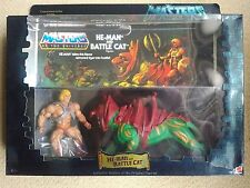 RARE! NISB! LTD ED MOTU Commemorative Series HE-MAN & BATTLECAT