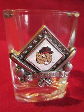 Vintage Portland Beavers Baseball Mascot Shot Glass RaRe PGE Park MiLB HTF MINT