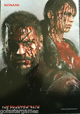 METAL GEAR SOLID 5 V THE PHANTOM PAIN LIMITED COLLECTOR'S EDITION BLOOD POSTER