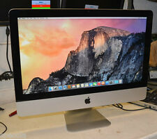 "Apple imac 21.5"" modèle 10.1 3.06 ghz 500GB hdd 8GB DDR3 ram wi-fi OSX10.11 X1"