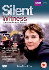 DVD:SILENT WITNESS - SERIES 3 AND 4 - NEW Region 2 UK