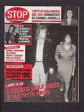 STOP 2260/1992 ETTORE ANDENNA RUTA BENIGNI CANIGGIA INTER MOANA POZZI BELMONDO