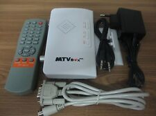 Digital Ordenador TV Programa Receptor Analógico TV BOX para CRT LCD Pantalla