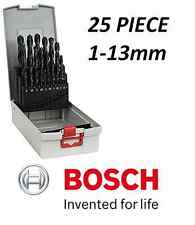 BOSCH Metal Drill Set Pro Box HSS-R 118° 1.0 - 13.0 mm 25 Pieces 2608587016
