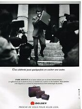 Publicité Advertising 1995 Les Bagages Valises Delsey