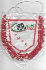 MOROCCO FEDERATION SOCCER FOOTBALL SALE OFFICIAL PENNANT 18x15cm OLD SEALED