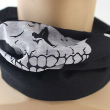 Skull Bandana Mask Outdoor Tube Neck Face Mask Headscarf Sport Headband
