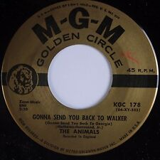 THE ANIMALS: Gonna Send You Back to Walker / Baby Let Me MGM Rock 45 NM-