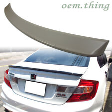 """IN STOCK LA"" Honda Civic 9 Sedan Rear Trunk Spoiler ABS D Type Japan Model 2015"