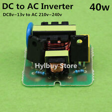 DC 12v to AC 220v Inverter Boost Voltage Converter Module for Battery Bulb Lamp