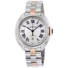 Cartier Cle de Cartier Automatic Silver Dial Ladies Watch W2CL0004