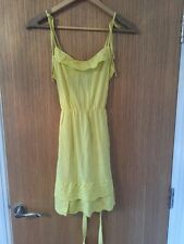 River Island Yellow Summer Dress Size 8 New With Tags