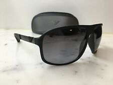 NEW Polarised Mens Emporio Armani EA4029 5063/T3 64/13 Black Aviator Sunglasses