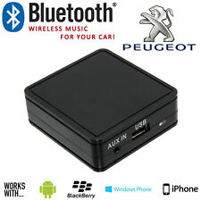 PEUGEOT 206 307 406 Bluetooth Auto Stereo Musica in Streaming Vivavoce con AUX IN