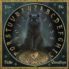 Lisa Parker His Masters Voice Black Cat Spirit Ouija Board with Planchette New