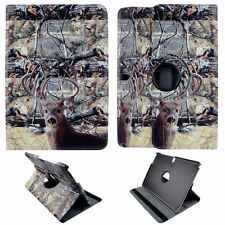 CAMO CON DEER CASE SAMSUNG GALAXY NOTE PRO 12.2 360 ROTATING STAND TABLET COVER