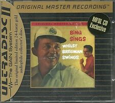 Crosby, Bing Sings Whilst Bregman Swings MFSL GOLD CD Neu OVP Sealed Folie besch