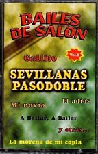 BAILES DE SALON - Sevillanas y Pasodobles - SPAIN CASSETTE Music K 2000 - Vol. 8