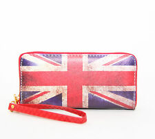England GB Flagge Fahne London Geldbörse Portemonnaie Wallet Damenbörse clutch