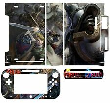 Skin Sticker Cover Decal for Nintendo Wii U Console & Controller 061 Zelda