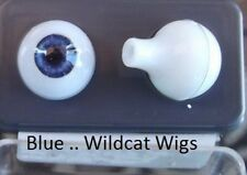 Doll EYES 12mm Glastic Realistic Fits HUJOO JAKE. BLUE