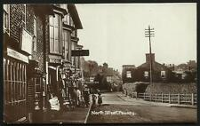 Pewsey. North Street. P.C.King & Nicol Shops.