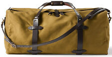NEW! FILSON LARGE DUFFLE BAG TAN #70223 ~ EXPEDITED SHIPPING IN USA! 2017