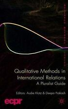 Research Methods: Qualitative Methods in International Relations : A...