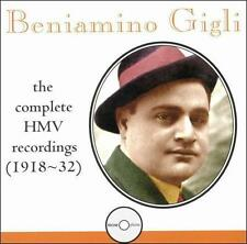 Beniamino Gigli: The Complete HMV Recordings (1918-32) (1998) (CD795) hi