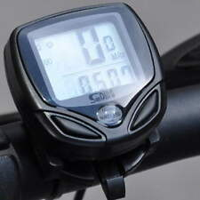 Wireless LCD Cycle Computer Bicycle Meter Speedometer Odometer For Bike Best  F5