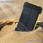 New Solar Power Bank 100000mah Portable External Battery Charger For Smart Phone