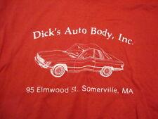 Vintage Dick's Auto Body, Inc. 95 Elmwood St., Somerville, MA Men's T- Shirt M